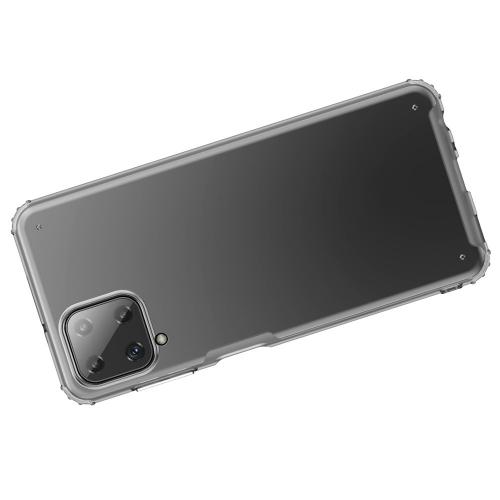 Удароустойчив Гръб Armor Matte за Samsung Galaxy A22 4G, Прозрачен