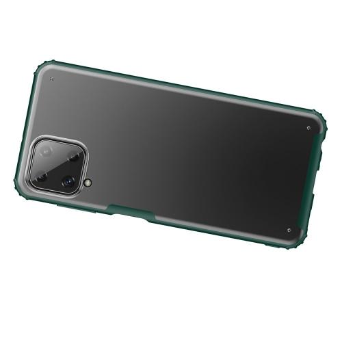 Удароустойчив Гръб Armor Matte за Samsung Galaxy A22 4G, Зелен