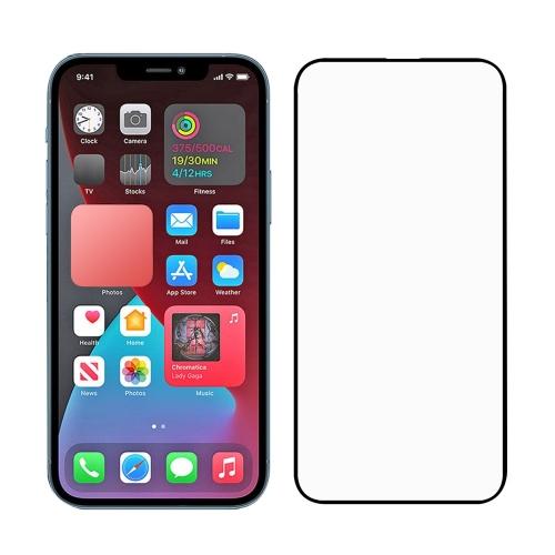 Стъклен Протектор Full Glue за iPhone 13/13 Pro, Черен