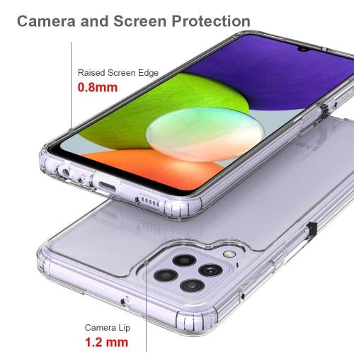 Силиконов калъф Anti-drop за Samsung Galaxy A22 4G, Прозрачен