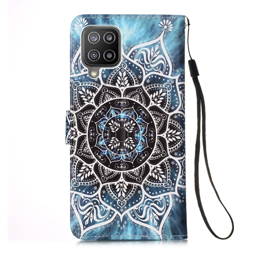 Калъф Тефтер Wallet за Samsung Galaxy A22 4G, Мандала