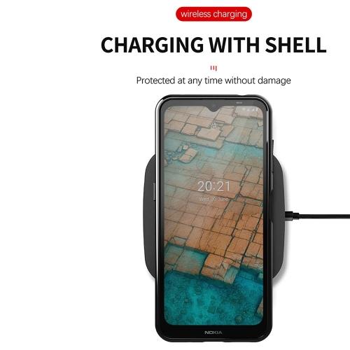 Силиконов калъф Thunder за Nokia G10 / G20, Черен