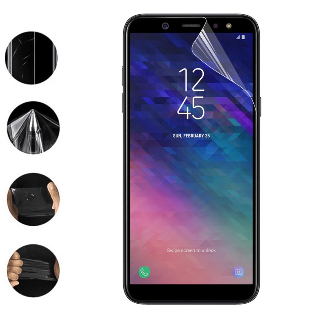 Хидрогел протектор за Samsung Galaxy A6 (2018) (front full)