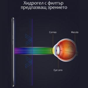 Хидрогел протектор Anti Blue за Motorola Moto E5 Play (front shell)