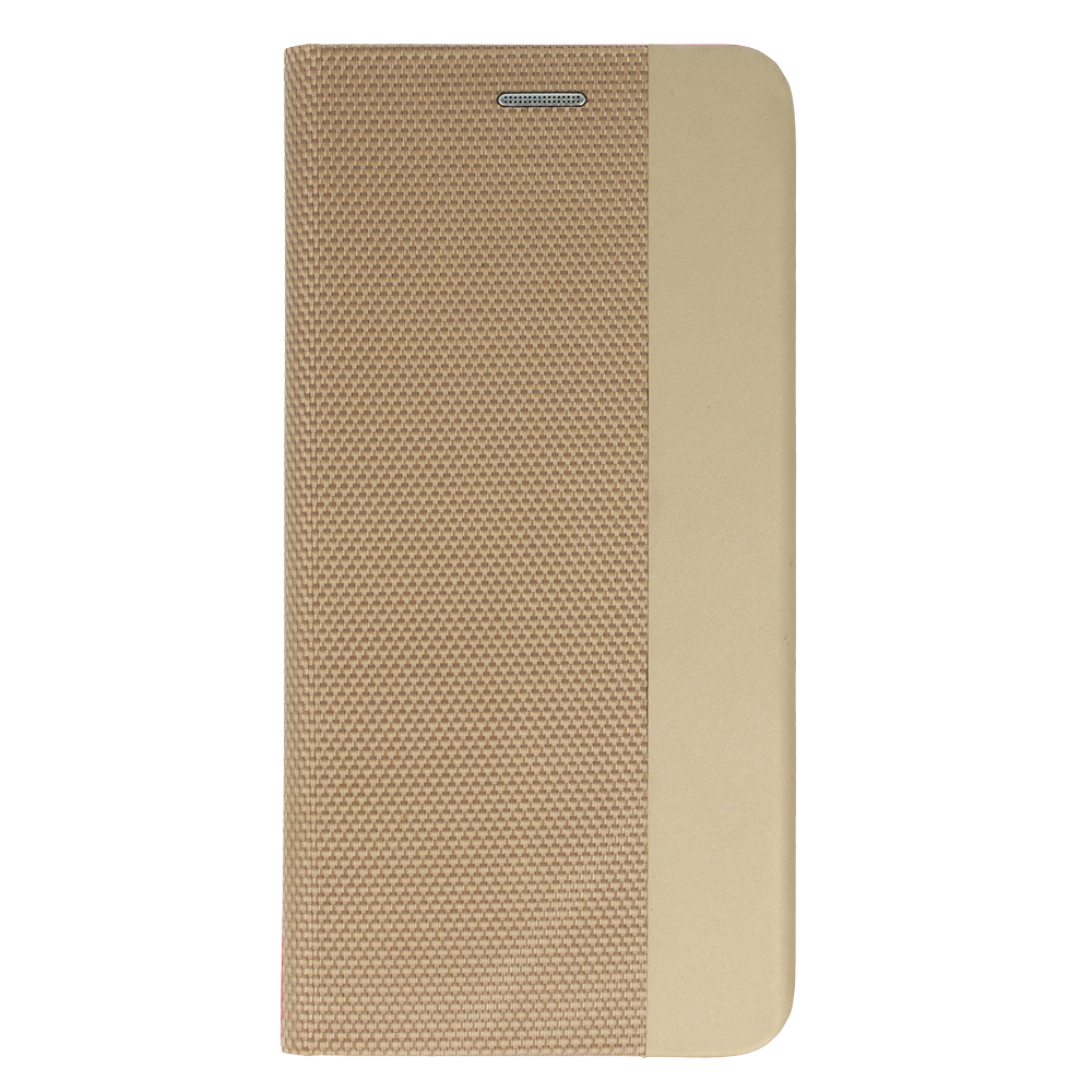 Калъф Тефтер SENSITIVE за Xiaomi Mi 11 Lite 4G/5G, Златист