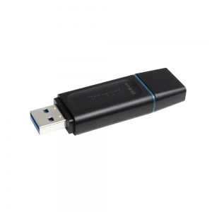 USB Флаш Памет KINGSTON 64GB USB 3.2, Черен
