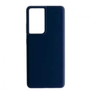 Силиконов гръб Nillkin Flex Liquid за Samsung Galaxy S21 Ultra, Син