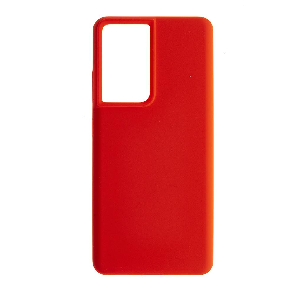 Силиконов гръб  Nillkin Flex Liquid за Samsung Galaxy S21 Ultra,Червен