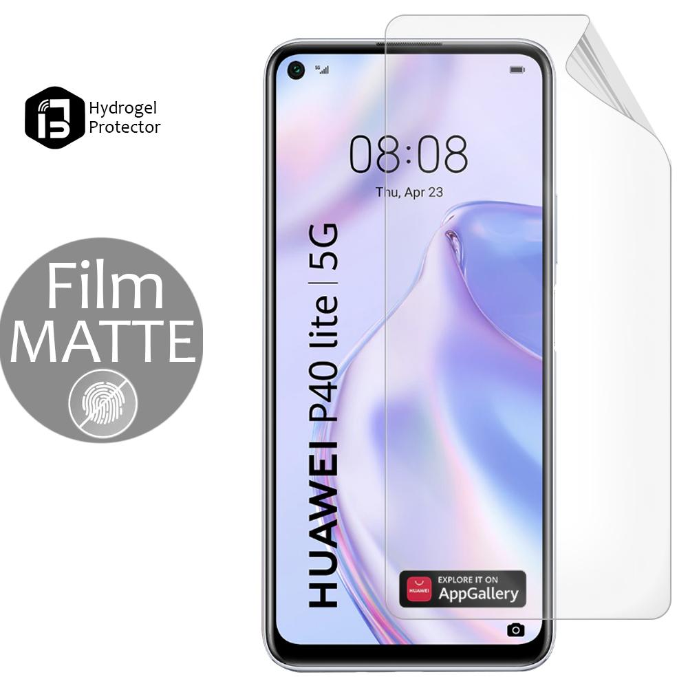 Хидрогел протектор BULL MATTE за Huawei P40 lite 5G, Front full