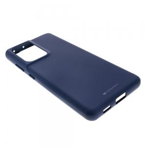 Силиконов калъф Soft Jelly за Samsung Galaxy S21 Ultra, Тъмно Син