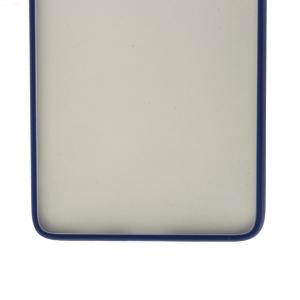 Удароустойчив калъф  Color Button Bumper за Samsung Galaxy S21 Ultra, Син