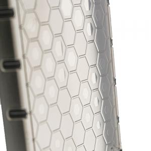 Удароустойчив калъв Shock Absorber за iPhone 13, Черен