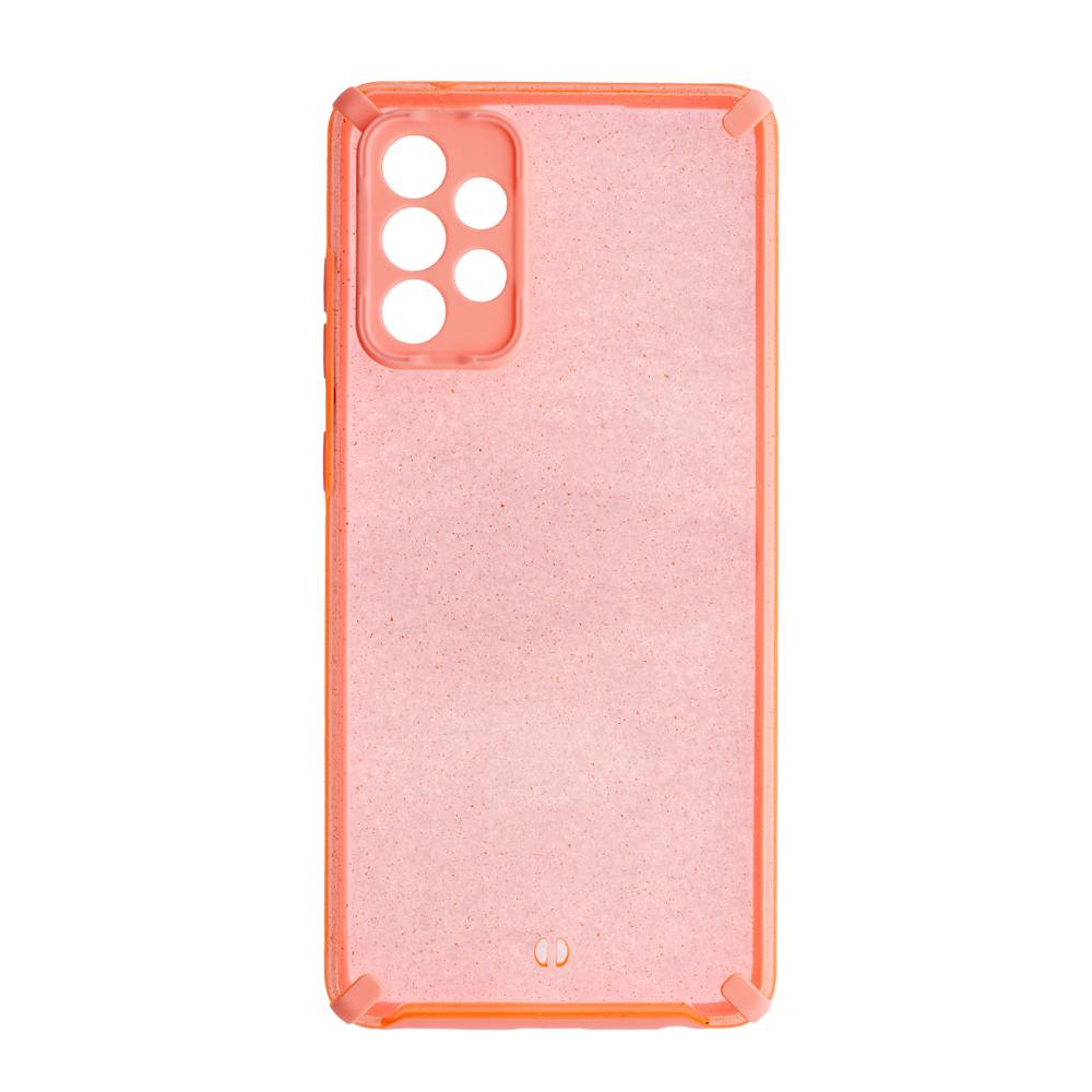 Удароустойчив калъф  Armor Glitter за Samsung Galaxy A72 4G/5G, розов