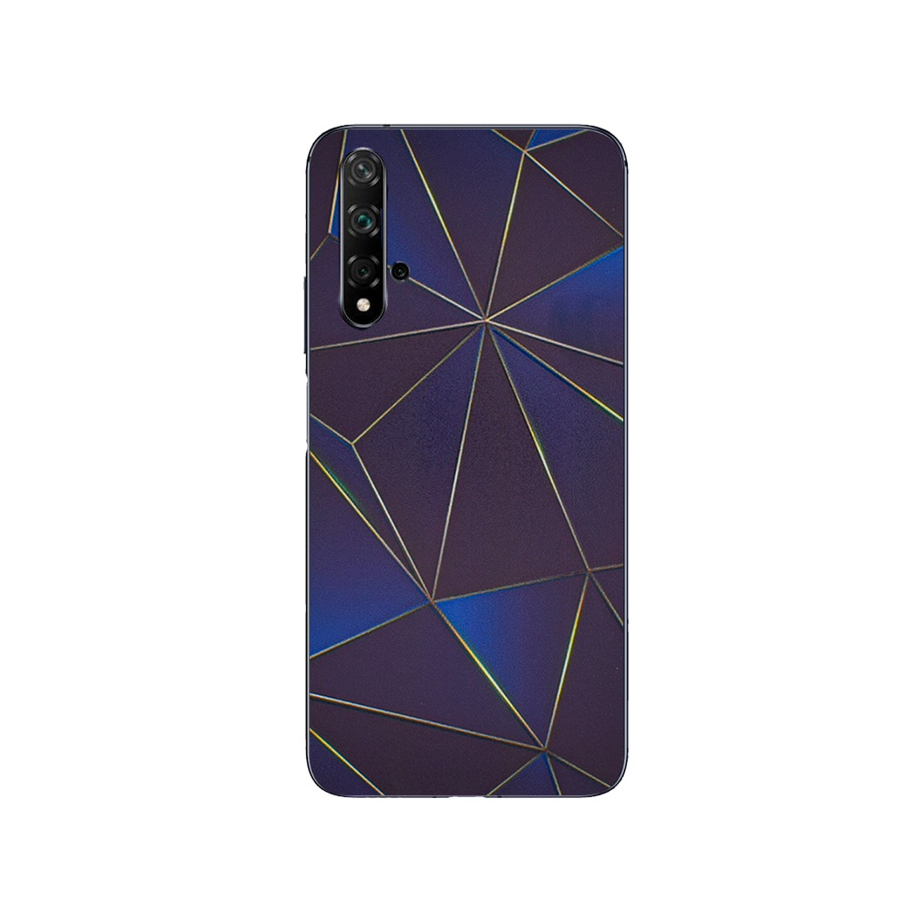 Фолио Протектор за телефон (Гръб) за Huawei Honor 20 / Nova 5t, Триъгалници
