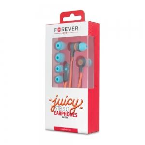 Слушалки с микрофон JSE-200 jack 3.5 mm, Оранжеви