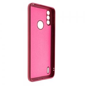 Калъф Гръб LUX LITE за Motorola Moto E7 Power,  Бургунди