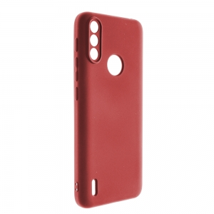 Калъф Гръб LUX LITE за Motorola Moto E7 Power, Пурпурен цвят