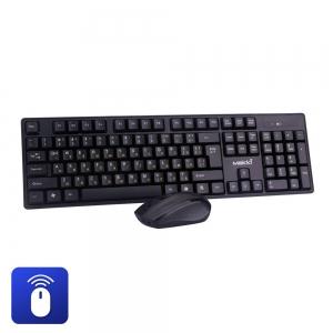 Безжична клавиатура Makki KBX-008 и мишка, Кирилизирана