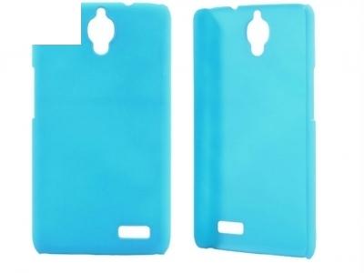 МАТИРАН PVC ПРОТЕКТОР ЗА ALCATEL OT-6030D OT-6030X ONE TOUCH IDOL - LIGHT BLUE